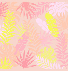 tropical modern background vector image vector image