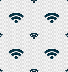 Wifi sign wi-fi symbol wireless network icon wifi vector