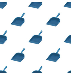 Dustpan icon in cartoon style isolated on white vector