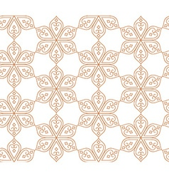 Indian seamless abstract pattern of traditional vector image vector image