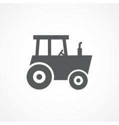 Tractor icon vector image vector image