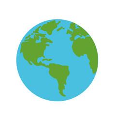Earth world symbol vector
