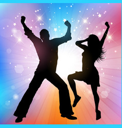 Party people poster vector