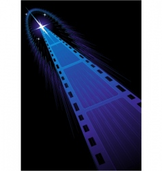 film strips background vector image vector image