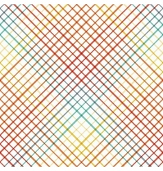 Geometric seamless pattern with cross lines vector image