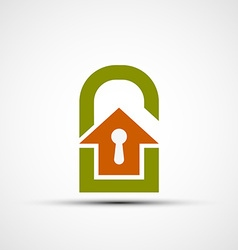real estate Stock vector image vector image