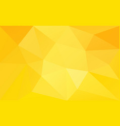 yellow warm sunny background vector image
