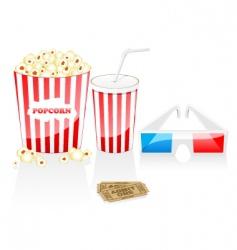 cinema elements vector image