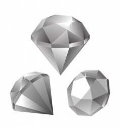 diamomds vector image vector image