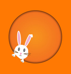 Easter rabbit easter bunny vector