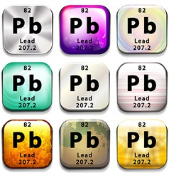 A button showing the element lead vector