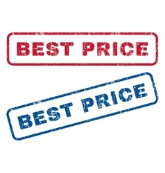 Best price rubber stamps vector
