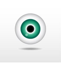 Eyeball vector image vector image