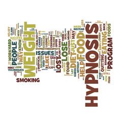 Look at the evidence of how hypnosis can help you vector