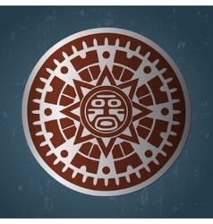 Maya sun vector image