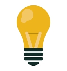 Bulb idea innovation intelligence design vector