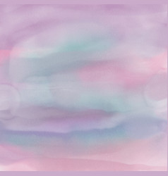 pastel pink watercolor background vector image