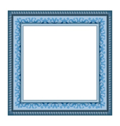 Frame isolated on white vector