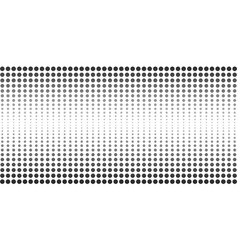 Abstract halftone dotted banner vector