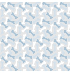 Bone seamless pattern vector image vector image