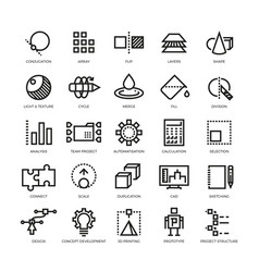 Cad designer future innovation database vector