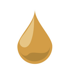 Oil drop isolated vector