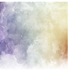 Pastel watercolor texture vector