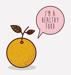 fruit healthy food vector image
