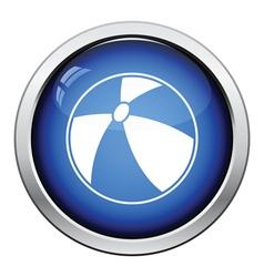 Baby rubber ball icon vector