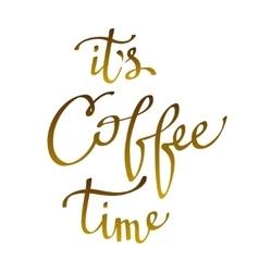 Brown coffee design vector