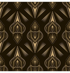 Seamless beautiful antique lace pattern monochrome vector