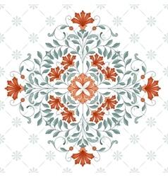 Vintage rhombus pattern for design vector image