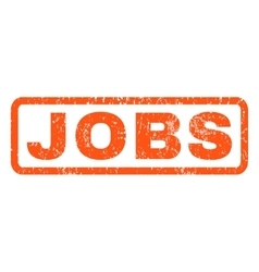 Jobs rubber stamp vector