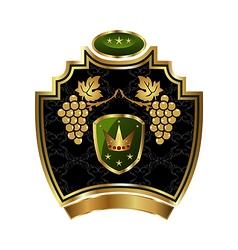 grapevine symbol vector image