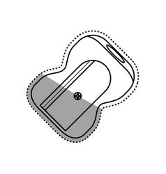 Sharpener school utensil vector
