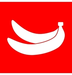 Banana simple sign vector