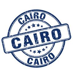 Cairo stamp vector