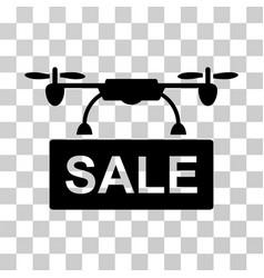drone sale icon vector image