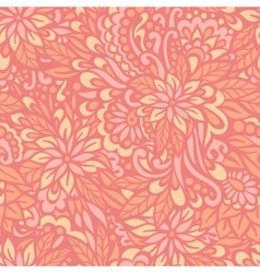 Flowering Garden Seamless decorative pattern vector image