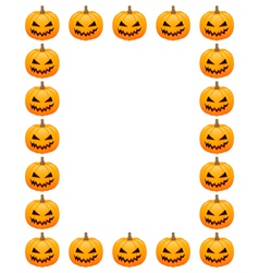 Halloween photo frame vector