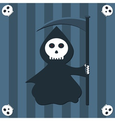 Reaper background vector image vector image