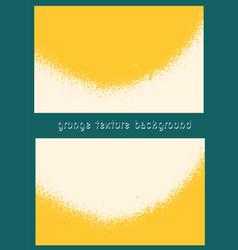 Grungy texture yellow grunge background textured vector