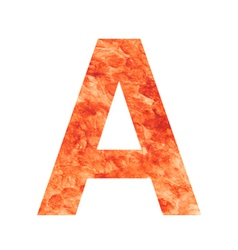 A land letter vector