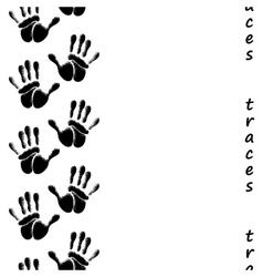Human hands seamless pattern vector