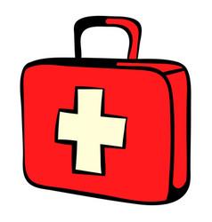 Medicine chest icon icon cartoon vector