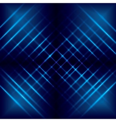 abstract background with blue luminous lines vector image vector image