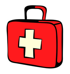 medicine chest icon icon cartoon vector image