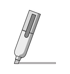 highlighter marker icon vector image