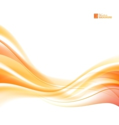 Abstract orange wind vector