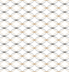Lace simple seamless pattern with ovals vector image vector image
